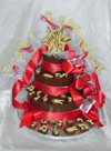 joint 16th birthday chocolate tier