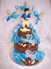 chocolate football celebration