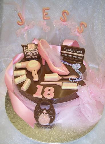 The Chocolate House Chocolate Birthday Tier