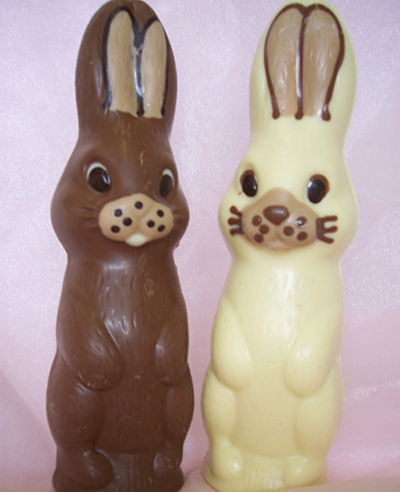hand made easter bunnies