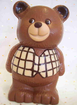 a picture of a chocolate bear