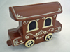 a picture of a chocolate carriage