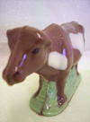a picture of a chocolate cow