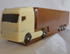 a picture of a milk chocolate european style lorry