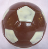 a picture of a chocolate football