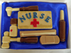 a picture of a chocolate nurse kit