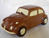 a picture of a milk chocolate vw car